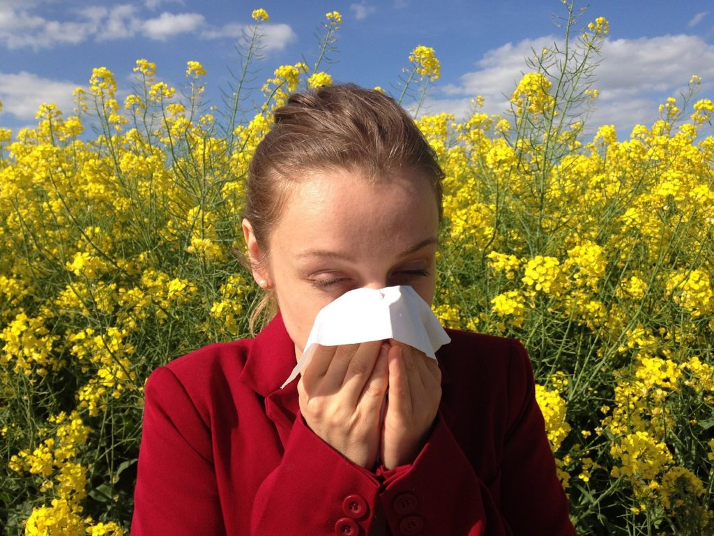 allergies with pulmonary hypertension