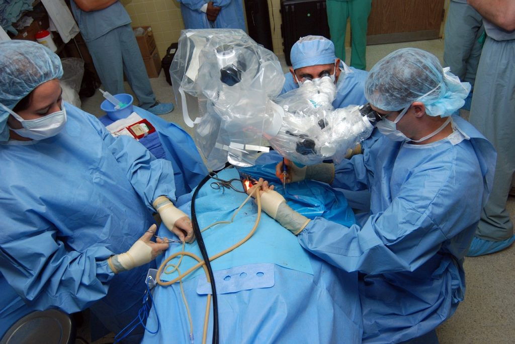 surgery operating room