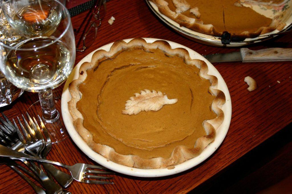 pumpkin pie holiday food salt intake