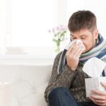 PAH patient with cold or flu virus